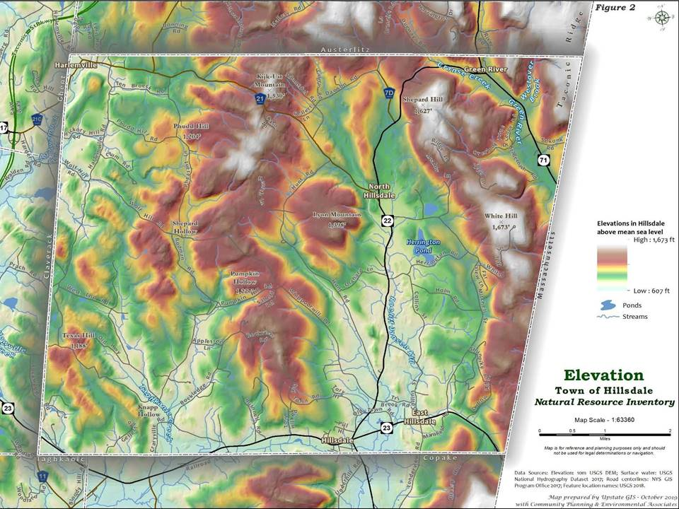 <strong>From the elevations, scenic views and water bodies to the large forests and floodplain forests, the Hillsdale Natural Resources Inventory contains more than 200 pages of information and descriptions related to the town's natural resources.<em>Photo contributed by the Hillsdale CAC</em></strong>