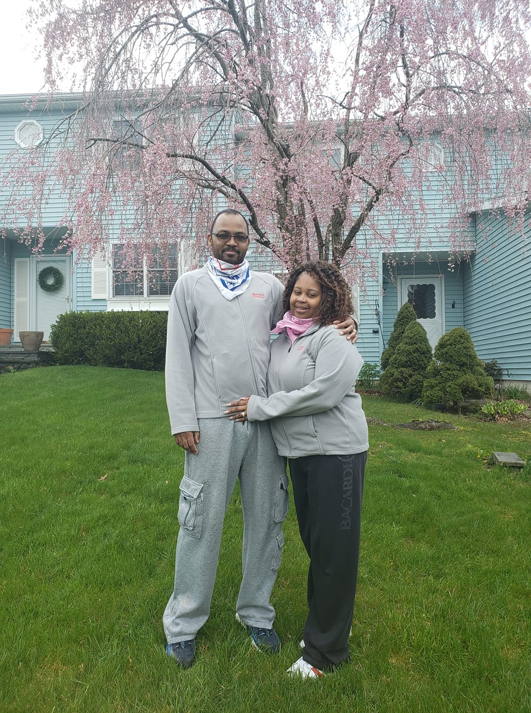 <strong>Participating on the Marshall &amp; Sterling team, Larry and Keesha Taylor were among the numerous area residents to participate in the American Heart Association's first Dutchess-Ulster Heart Walk Digital Experience last April.<em>Photo submitted</em></strong>