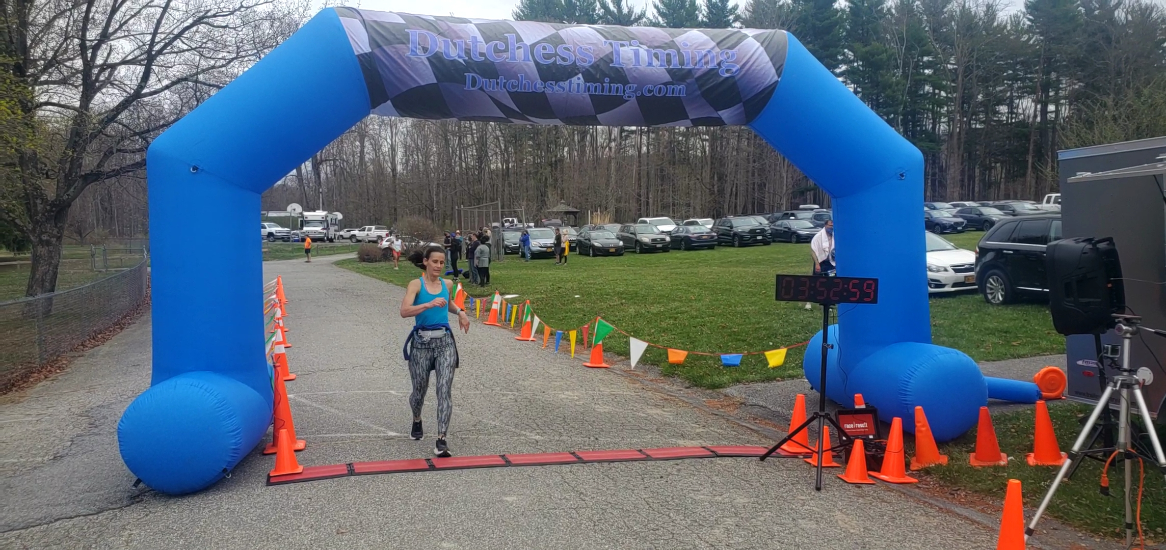 <strong>The first-place female finisher of the Millbrook Marathon was Caitlin Sorriento, who finished with a time of 3:52:50.</strong><em><strong>Photoby Judith O'Hara Balfe</strong></em>
