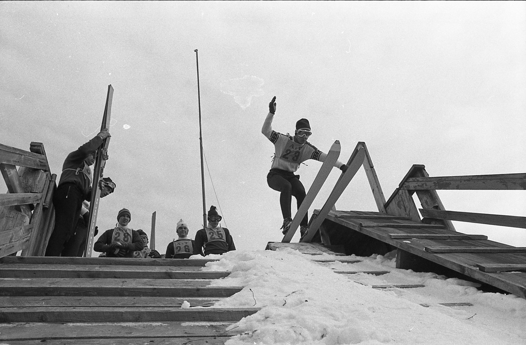 <strong>These digitized photos of the ski jumps from 1971 and 1985 are just a few of the images we will eventually have.</strong>